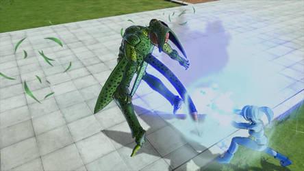 Liz kills Imperfect Cell by markzilla6895