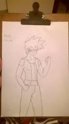 Celari Sketch by HelvecioBNF