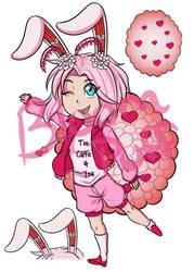 Valentine, but not Valentine Bloom Puff Adopt Open by KiyasamatheInu