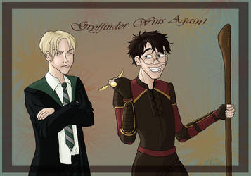 Gryffindor Wins Again - Colour by Nel-Whipwind