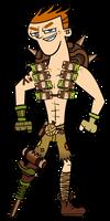 Halloween Cosplay - Scott as Junkrat by EvaHeartsArt