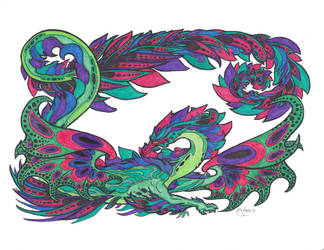 Dragon by LordofPhoenixDawn