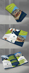 Tri-fold Brochure by JewelBlueDot