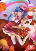 Alys's Candy World by SupraDrawner