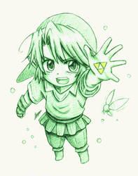 Link by HaganeNoChibiSan