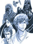 Star Wars by HaganeNoChibiSan