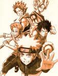 Your favorites by HaganeNoChibiSan