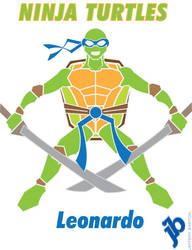 Ninja Turtle Leonardo by BigBuddyWill