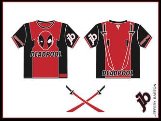 DeadPool T shirt by BigBuddyWill