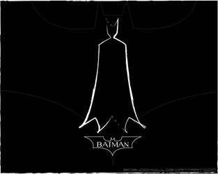 BATMAN-Black 1 by BigBuddyWill