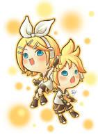 VOCALOID: Rin Len by Miss-Rabbit