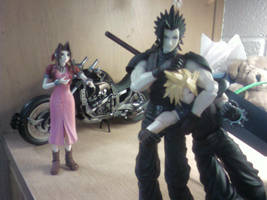 Cloud, Zack, and Aerith 3 by namine1245