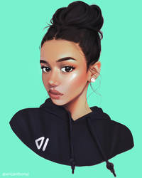 Hoodie by ericanthonyj