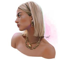 Hailey Baldwin (Bieber?) by ericanthonyj
