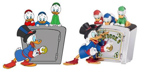 Duck Tales Bank by AnimalQwacker