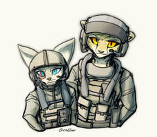 Helicopter Pilots by oLEEDUEOLo