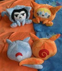 Maru Sasuke Naruto Plushies by LiLMoon
