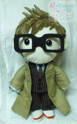 Doctor Who David Tennant Plushie by LiLMoon