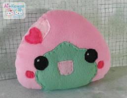 Sakura Mochi Plushie by LiLMoon