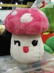 Sakura Mushroom Plushie by LiLMoon