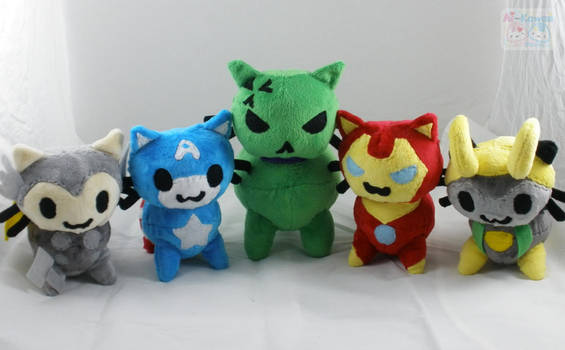 Catvengers Assemble! by LiLMoon