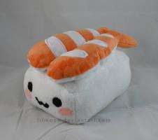 Ebi Sushi Plush by LiLMoon
