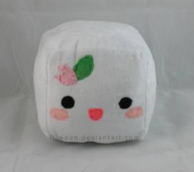 Kawaii Tofu Plush V2 by LiLMoon