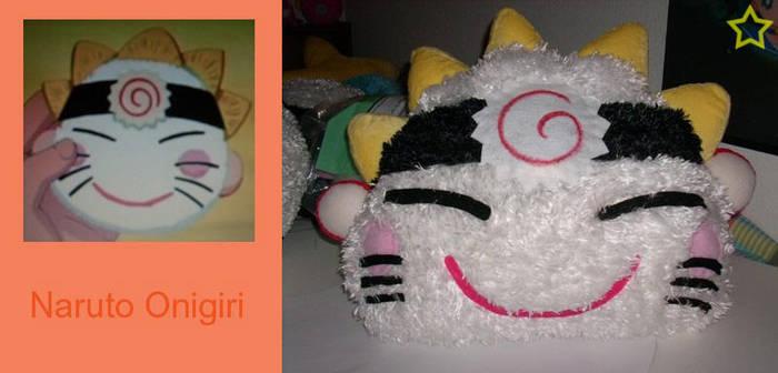 Hinata's Naruto Onigiri Plush by LiLMoon