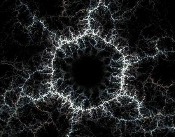 Fractal 5 - Real Lightning by greenaleydis-stock