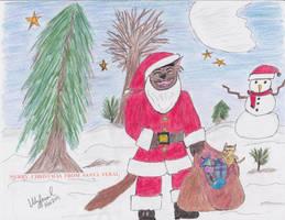 Santa Feral by ulyferal