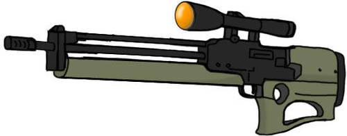 Future Sniper rifle by niteraven