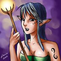 Light Elf by lania