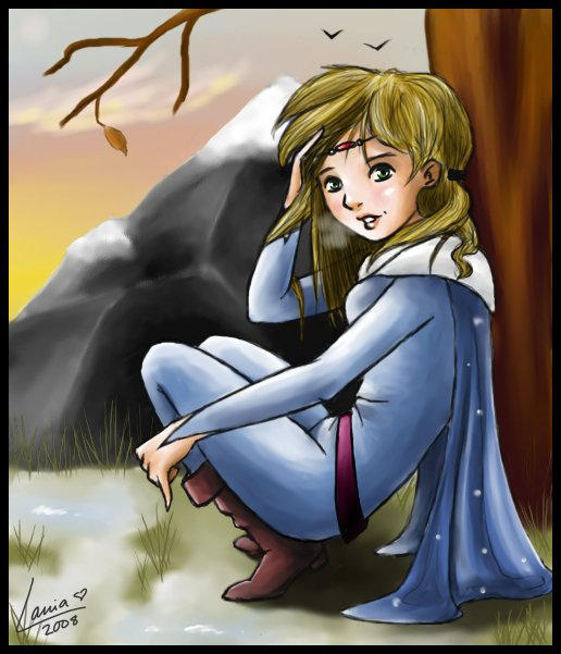 Mannon - Winter Scene by lania