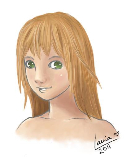 Fiora - Xenoblade Chronicles by lania