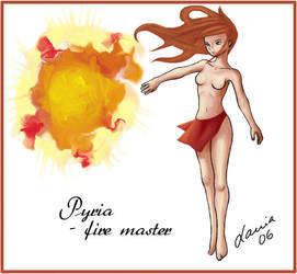 Pyria - Fire Master by lania