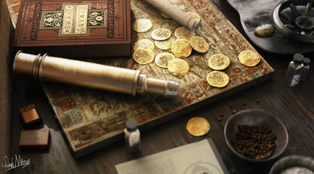 Old coin by mattiarib