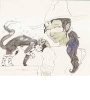 Misto is Elphaba's Cat by crazyashley