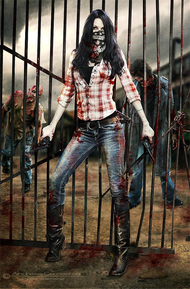 The Walking Dead by FrozenStarRo