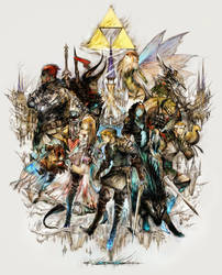 The Legend of Zelda XIII by mjHutchins