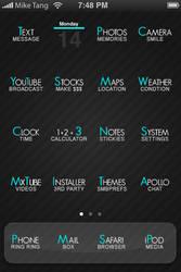 iPhone - ReText. by MystikDarkEchoes