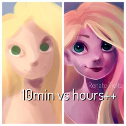 10min vs hours++ by nor-renee