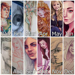2016 Artworks by nor-renee