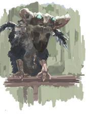 'The Last Guardian' fan art by Akiratmeo