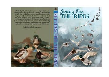 Book cover design by Akiratmeo