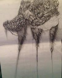 Tetsudo creature concept by Akiratmeo