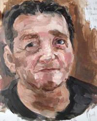 Portrait painting by Akiratmeo