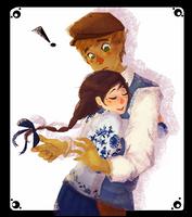 First Hug by HennaFaunway