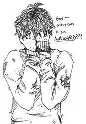 -Awkward- by HennaFaunway