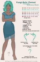 Fungi-Solo Ref Sheet human by cleopata