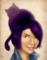 Cat Hat by cleopata